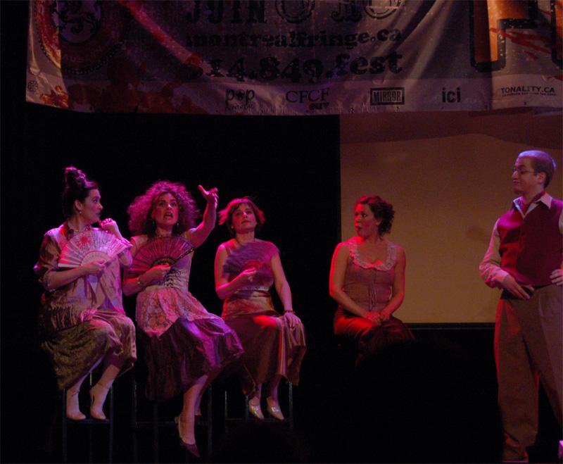 Les femmes savantes - Fringe-for-all 2006