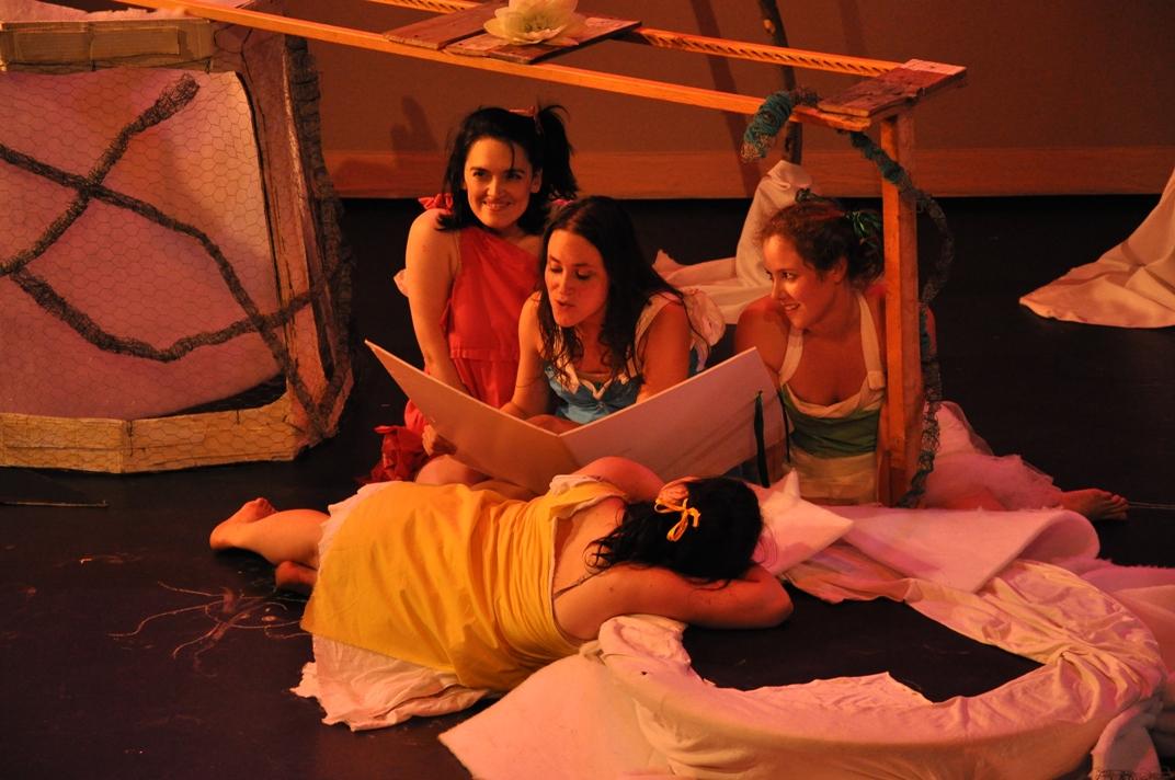 Les quatre petites filles - juin 2010